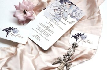 Roses Wedding Invitation Suite 3 3129800 5
