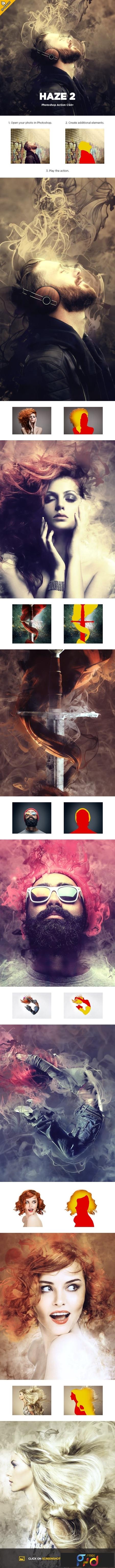 Haze 2 CS4+ Photoshop Action 23310795 1