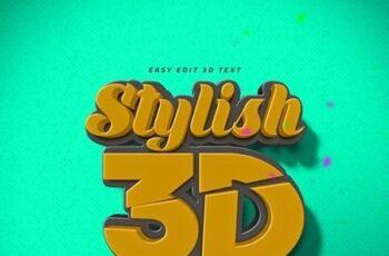 3D Text Logo Mockup 23714572 4