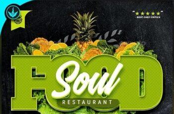 Soul Food Restaurant Menu Flyer Template 23519005 7
