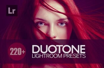 Duotone Lightroom Presets bundle 3675288 5