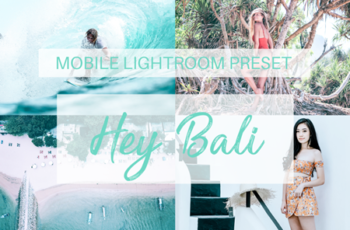 Hey Bali Mobile Lightroom Preset 4