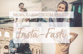 Insta-Fash Mobile Lightroom Preset 2