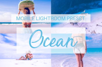 Ocean Mobile Lightroom Preset 3