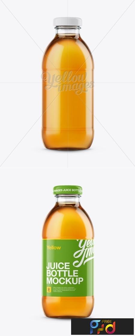 Apple Juice Glass Bottle Mockup 12148 1