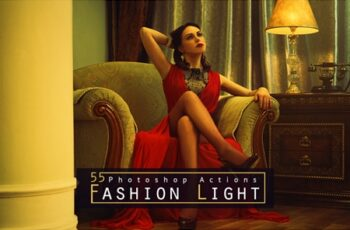 55 Fashion Light Photoshop Actions 4