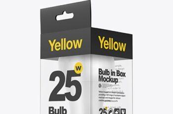 LED Bulb in Box Mockup 38655 8