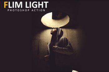Flim Light Photoshop Action 4
