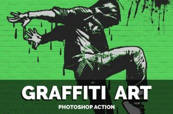 Graffiti Art Photoshop Action 5