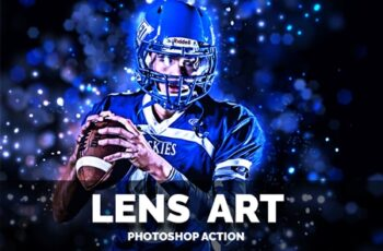 Lens Art Photoshop Action 3