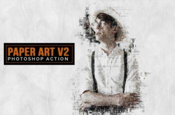 Paper Art v2 Photoshop Action 3