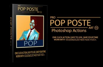 Pro Pop Poster Art v2 Photoshop Actions 1