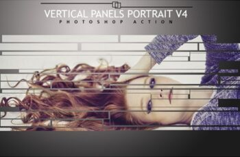 Vertical Panels Portrait V4 Photoshop Action 4