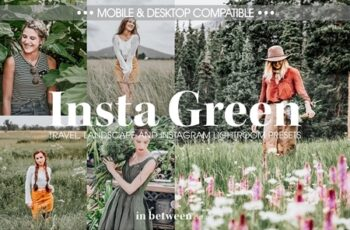 Insta Green Lightroom Mobile Presets 3707084 3