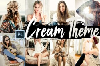Neo Cream Color Grading Photoshop Action 1274734