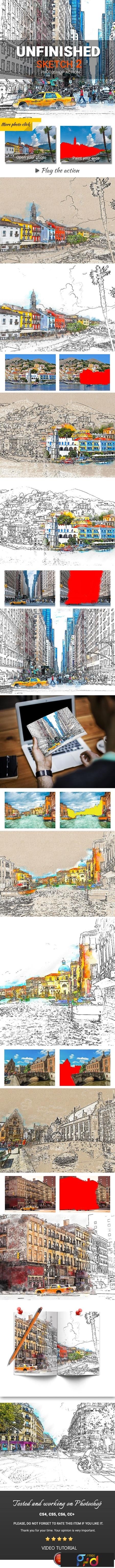 Urban Sketch2 Photoshop Action 23600694 1