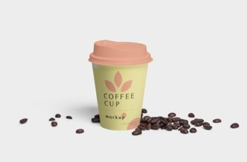 Disposable Coffee Cup Mockups 3516761 3