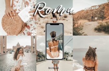 Mobile Lightroom Preset ROMA 3726654 5