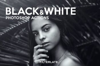 Black & White Photoshop Actions 3164838 9