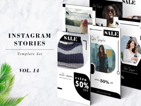 Instagram Stories Template Pack Vol 14 1268798 - FreePSDvn