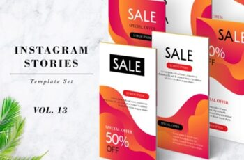 Instagram Stories Template Pack Vol.13 1268791 2