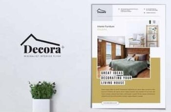 DECORA Minimal Interior Flyer 5