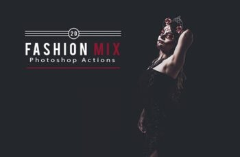 20 Fashion Mix Photoshop Actions 5