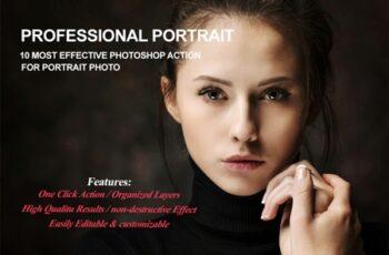 Professional Portrait Photoshop Action 2