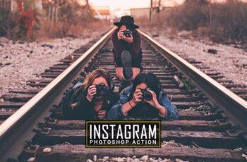 Instagram Photoshop Action 7
