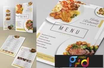 Simple Restaurant Menu 2