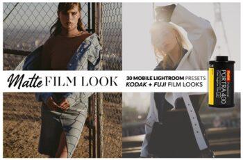 MATTE FILM Mobile Lightroom Presets 3702658 3