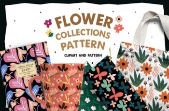 Flower Collections Pattern 3738006 8