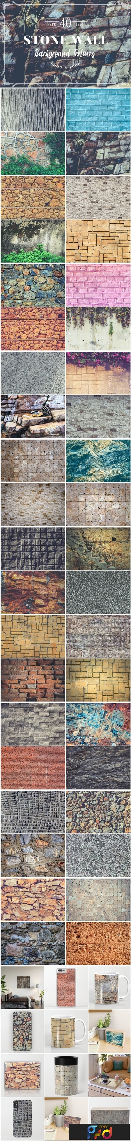 40 Stone Wall Background Textures 3737569 1