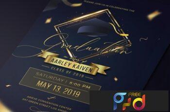 Elegant Graduation Invitation 5