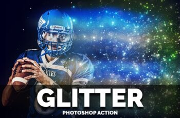 Glitter Photoshop Action 4