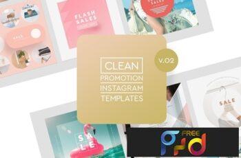 Instagram Promotion Clean Templates v.02 3