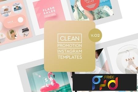Instagram Promotion Clean Templates v.02 1