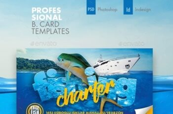Fishing Tour Business Card Templates 23712497 7