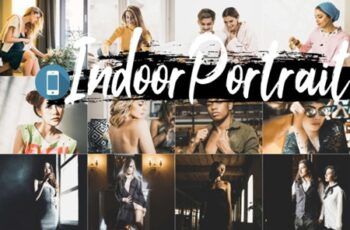Indoor Portrait Mobile Lightroom Presets 4