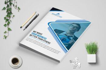 Corporate bi Fold Brochure template 3573705 4