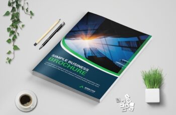 Corporate bi fold Brochure template 3573710 6