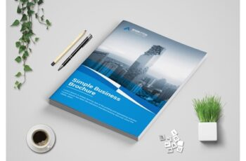Corporate bi fold Brochure template 3573714 6