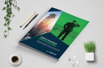 Corporate Bi Fold Brochure template 3573716 3