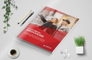 Travel Bi Fold Brochure template 3573728 7