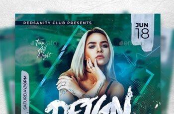 Guest DJ Artist Flyer 23823423 4