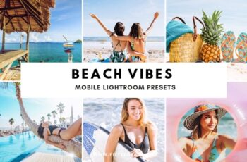 Beach Vibes Mobile Lightroom Presets 3597836 6