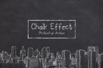 Chalk Effect Photoshop Action 3685500 7