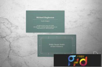 Art Deco Business Card 7