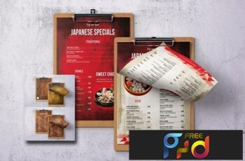 Different Countries Single Page Menu Bundle V5 8