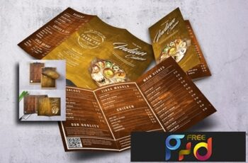 Indian Cuisine Food Menu Bundle 4